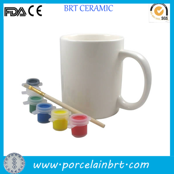Paintable Ceramics Mug