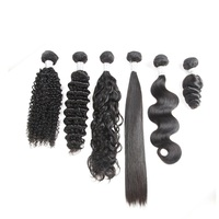 Products Supply Express Ali Cuticle Aligned Raw Temple Virgin Indian Human Hair Curly Hair Weft Deep Wave Extension Vendor