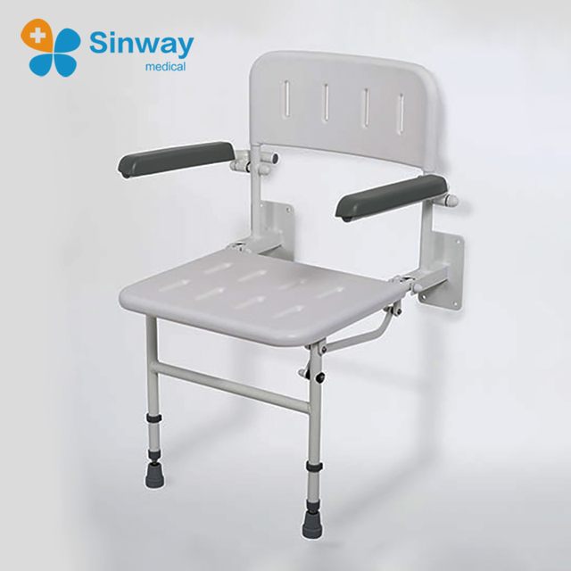 Wall Mounted Shower Chair Folding Shower Seat