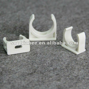 Attractive Price White Plastic Electrical PVC Pipe Clips