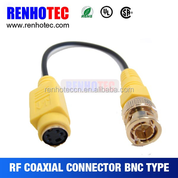 BNC Connectors for Automotive Oscilloscope Set with Banana Plug and Power Clip