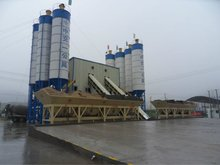 fixed concrete batching plant