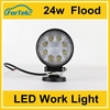 Auto led light led flood light 24w off road popular light