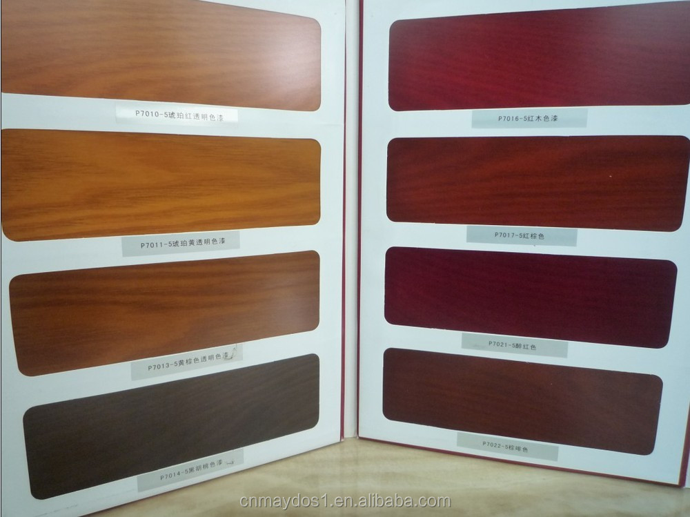 Teak Wood Paint Spray Wood Doors Furniture Guangzhou Chemical Walnut