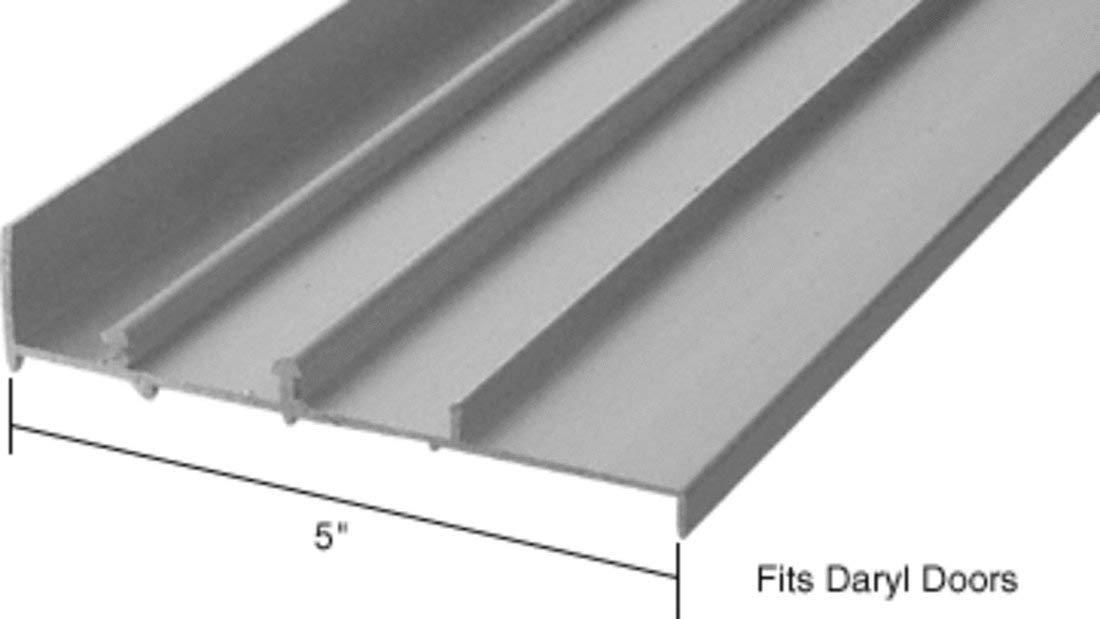 CRL Aluminum OEM Replacement Patio Door Threshold for Daryl Doors - 5' Wide x 8' Long