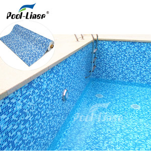 2017 popular pools swimming PVC vinyl pool liners fiberglass,PVC liner pool swimming
