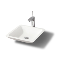 K-S1003 washbasin made in china solid sueface bath sink