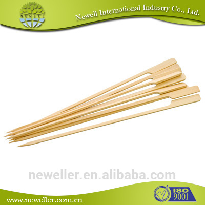 2014 Newell bamboo barbecue skewer food grade bbq kebab set