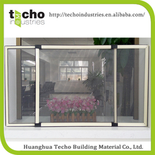 Easy to wash sliding window mosquito netting