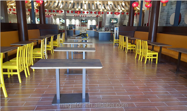 Commercial Restaurant Type used Canteen Furniture to Dubai (FOH-RTC02)