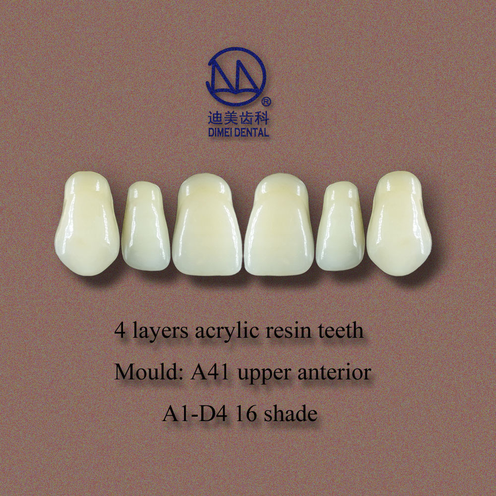 High Abrasion Resistance Denture Material,4/3/2 Layers Acrylic ...