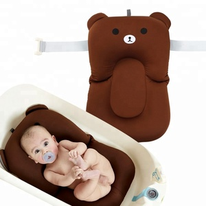 Custom Waterproof Safe Inflatable Baby Bath Tub Cushion Pillow
