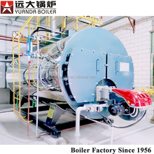 2015 hot price Auto and Clean 0.7to 14 mw horizontal type gas oil fired water boiling machine /boiler