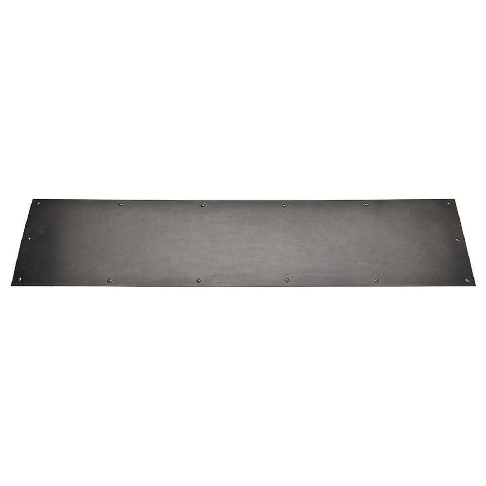 Polished chrome kick plate acrylic shower splashbacks