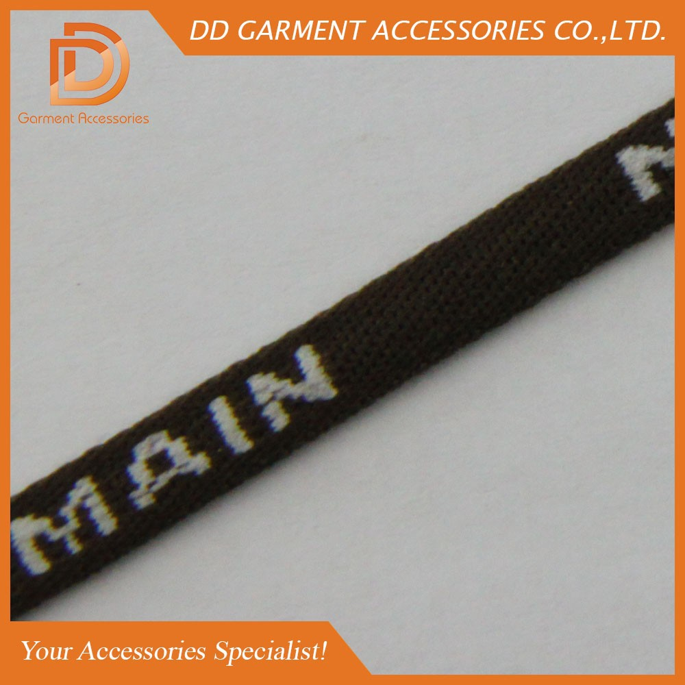 Custom Made Logo Jacquard 6mm Nylon Rope
