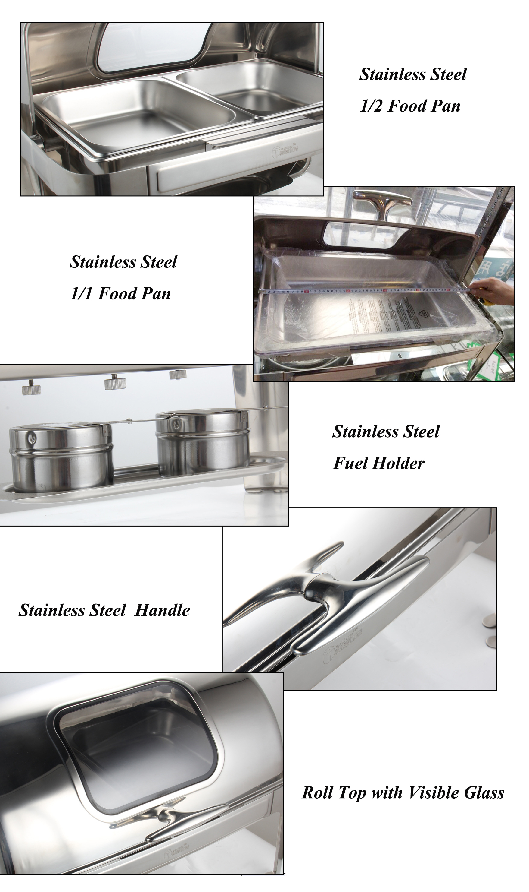 mercial kitchen equipment restaurant buffet food warmer for