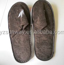 High quality cheap custom logo disposable slipper for hotel