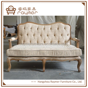 Cool French Provincial Style Vintage Script Fabric Wooden Sofa Loveseat Buy French Loveseat French Sofa Vintage Sofa Product On Alibaba Com Machost Co Dining Chair Design Ideas Machostcouk