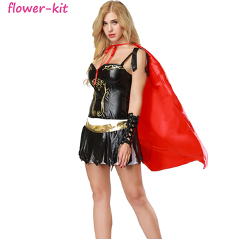 Halloween Sexy Gladiator Costume for Women Adult Role Play Costume  sc 1 st  Alibaba & Halloween Sexy Gladiator Costume For Women Adult Role Play Costume ...