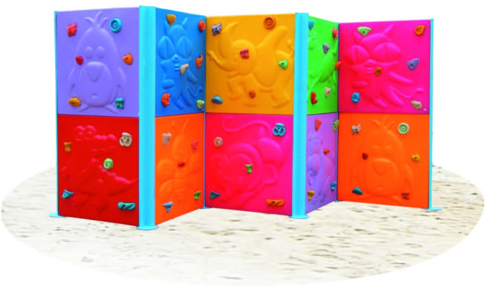 High Quality Kids Climbing Wall Panel mammut climb H-18202