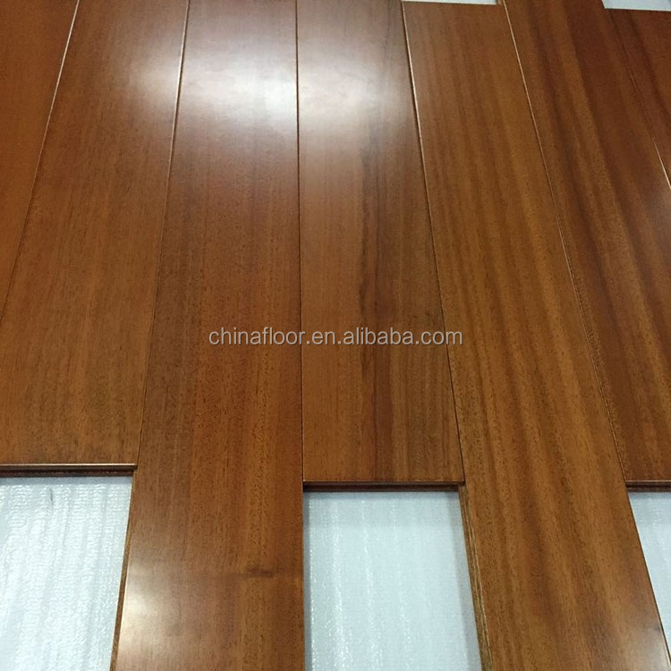 anti-skid wooden flooring teak from Africa solid parquet floor