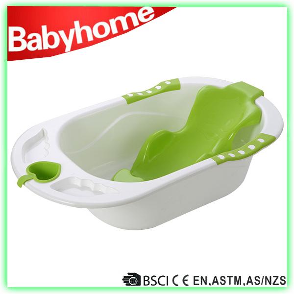 Certificado en71 beb ba era de pl stico de pie tubos for Banera plastico bebe