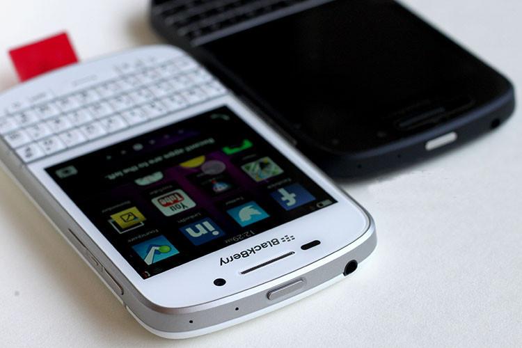 Unlocked Original Blackberry Q10 Mobile Phone 8MP 2GB RAM 16GB ROM touch  screen + Qwerty keyboard, Free DHL-EMS shipping