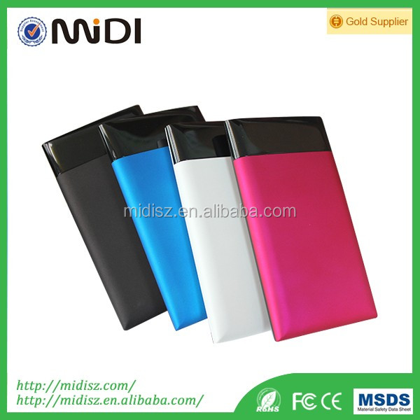 China supplier portable rechargeable battery charger 10000 mah android phone