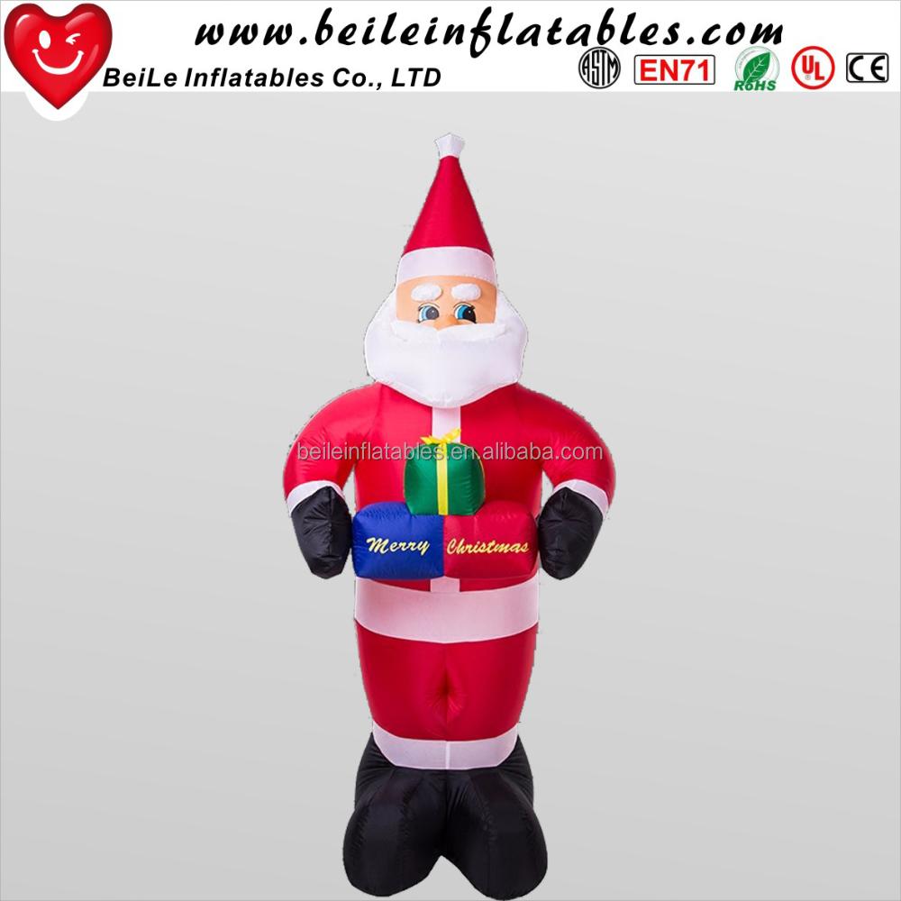 Giant Outdoor Inflatable Western Christmas Santa - Buy Giant ...