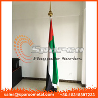 indoor office flag poles with stand