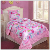 Twin size wholesale patchwork baby quilts 100% cotton