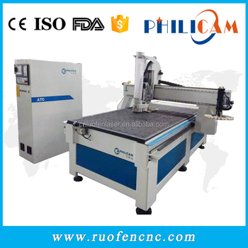 Philicam Automatic furniture making machine 1325 cnc router for wood
