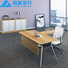 China manufacturer hot sale office furniture wooden MFC executive desk manager table office boss table