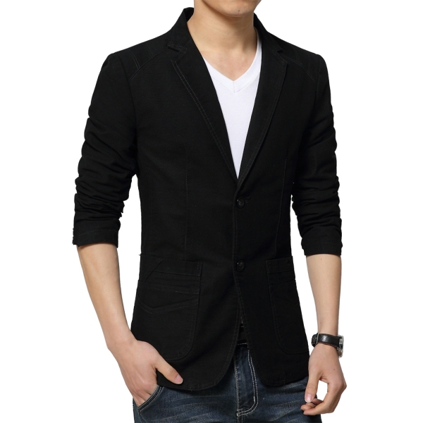 Discover our stylish range of men's blazers from ASOS. Shop from a variety of longline and classic styles and choose from soft velvet to a range of colors. your browser is not supported. ASOS DESIGN Skinny Blazer In Black Cotton. $ ASOS DESIGN super skinny texture blazer in navy wool mix. $ Moss London Slim Blazer In .