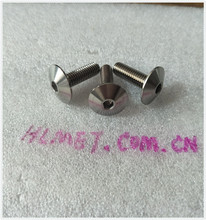 Hot sale ! China supplier m6x20 titanium hex socket umbrella head bolt apply to modified race
