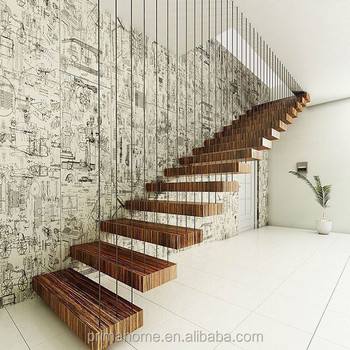 Diy Floating Stairs Stair Railing Staircase Handrails Column