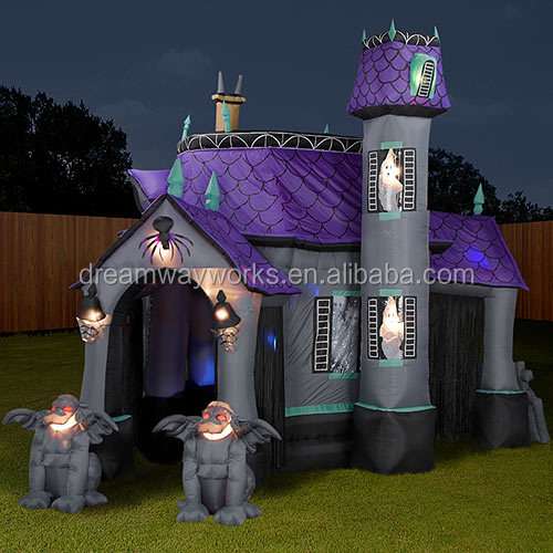 halloween inflatable haunted house1jpg