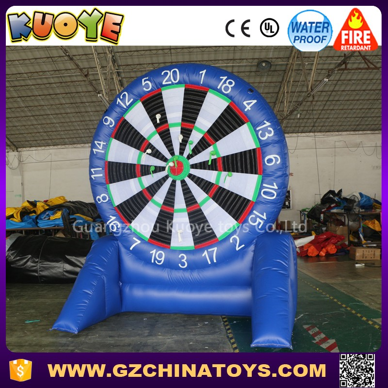 2.5m dia inflatable football dart soccer dartboard