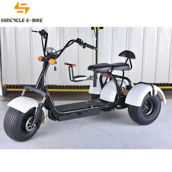 Suncycle Hub Motor Electric Scooter City Coco 60v 12ah 1000w Ebike