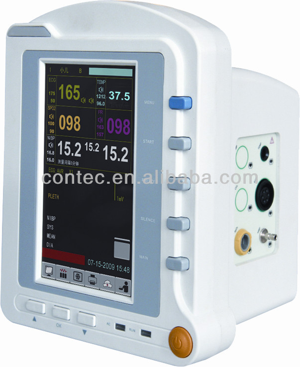 Real manufacturer wireless CONTEC  HMS6500 telemedicine equipment patient monitor Vital Signs