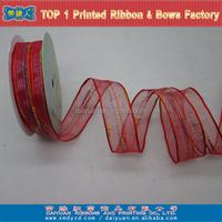 Wired organza silk embroidery ribbon stitches supplies