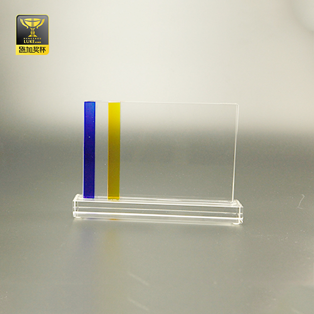 engraved blank crystal plaques transparent glass cube trophy