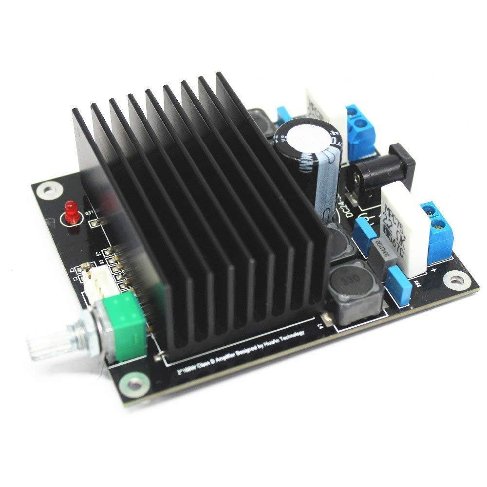 WillBest TDA7498 Amplifier Board (100W+100W) High-Power Digital Power Amplifier Board 2x100w Computer Amplifier Dual-Channel Stereo