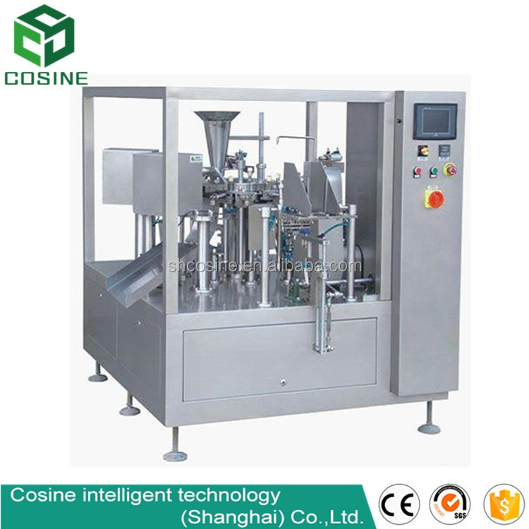 vertical automatic pouch multispecies medicine piller tablets capsules counting filling and packing machine