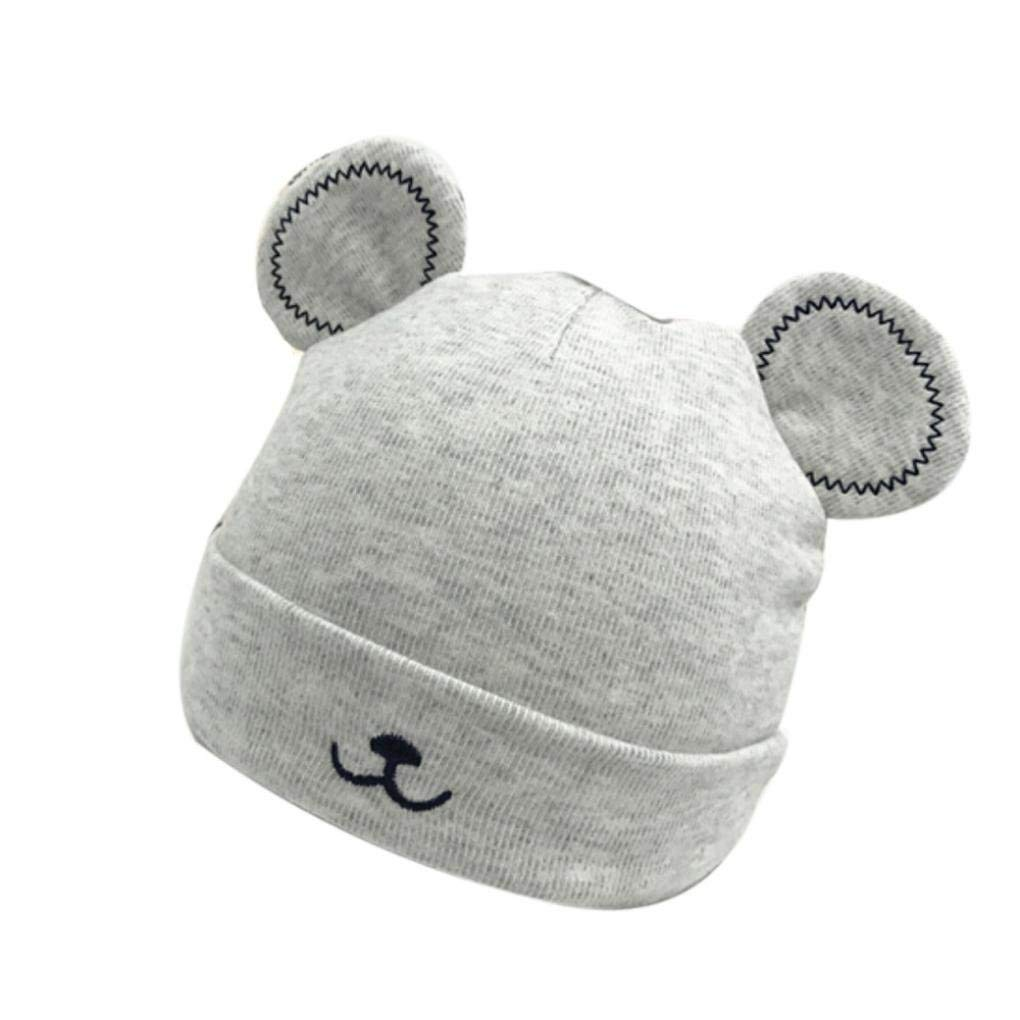 52fc1298352 Get Quotations · FEITONG Cute Baby Toddler Girls Boy Warm Hat Winter Beanie  Hat Cute Ears Plush Cap