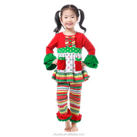 Christmas Baby Girls Snowflake Fancy Dress Up Party Outfits Clothing