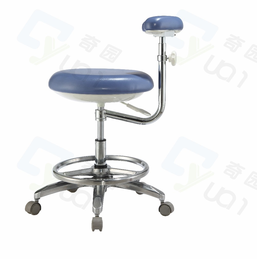 Dental assistant chairs - New Style Comfortable Dental Assistant Stool Nurse Chair Height Adjustable Armrest 360 Degree Adjustable