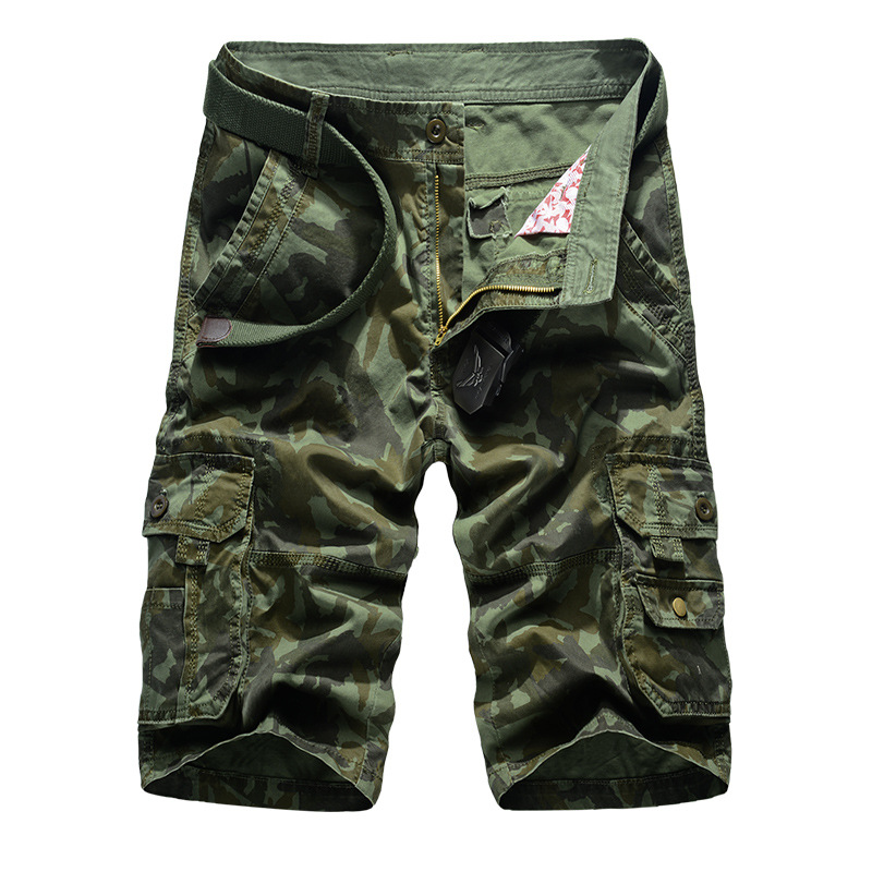NEW Mens Trousers Casual Shorts Stylish Military Army Cargo Loose
