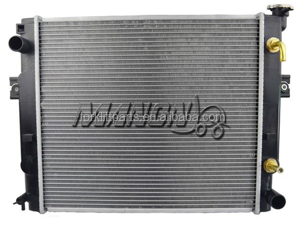 China supplier forklift spare parts radiator 2029189 use in H2.00DX