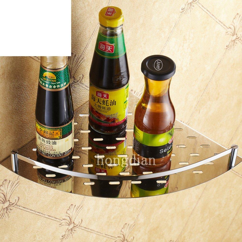 Stainless steel bathroom racks/Bathroom racks/Bathroom single storey triangular basket rack/ bathroom-A